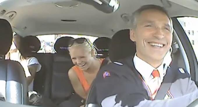 le-premier-ministre-norvegien-jens-stoltenberg-au-volant-d-un-taxi-l-espace-de-quelques-heures-photo-capture-d-ecran